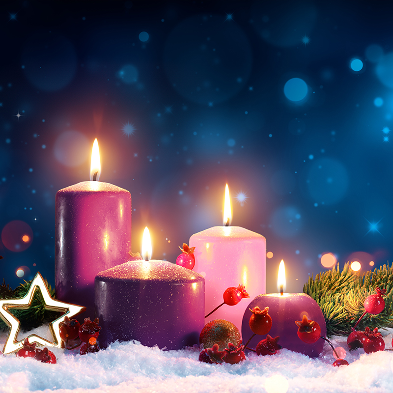 Advent Candles square