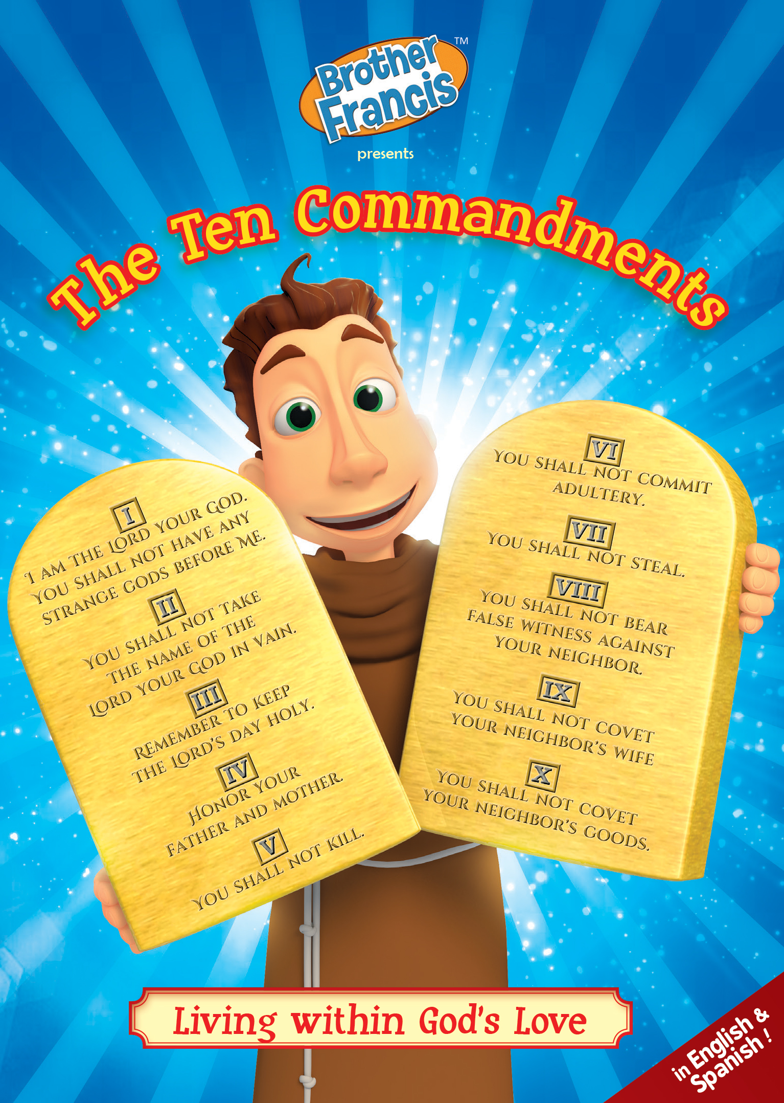 Brother Francis episode 16: The Ten Commandments