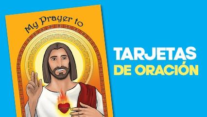 ¡12 tarjetas de oración en español!