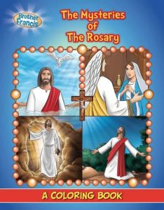 The Mysteries of the Rosary - Coloring Book