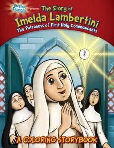 The Story of Imelda Lambertini - A Coloring Storybook