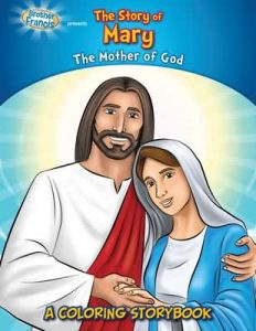The Story of Mary - A Coloring Storybook