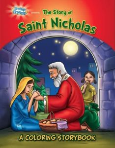 The Story of Saint Nicholas - A Coloring Storybook