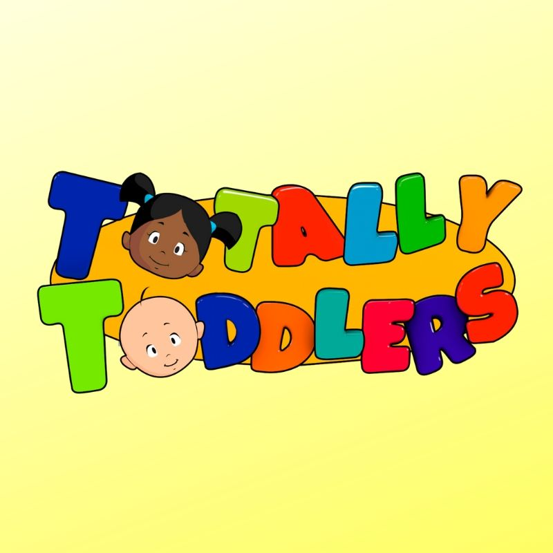 Totally Toddlers Logo on Yellow